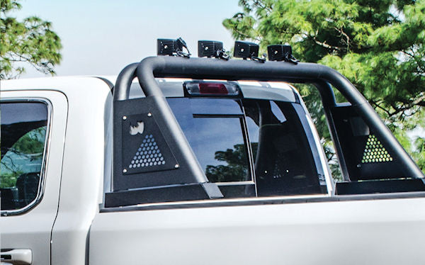 roll bar installed on truck