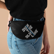 RUN THE BLUE LINE Fanny Pack