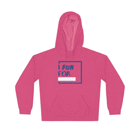 I RUN FOR Unisex Lightweight Hoodie