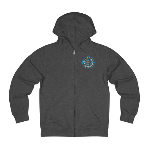 IN TRAINING Unisex Lightweight French Terry Zip Hoodie