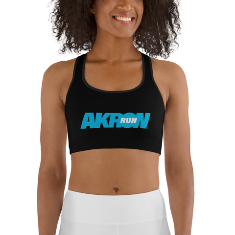 Women's RUN AKRON Sports bra