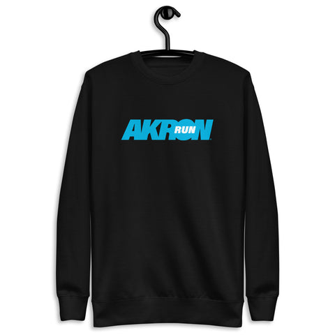 Run Akron Womens Fleece Pullover