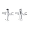 Airplane Stud Earrings Timelessly