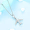 Airplane Travel Necklace Timelessly