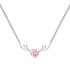 Antlers Heart Necklace Timelessly