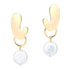 Baroque Pearl Drop Earrings Timelessly