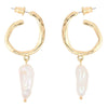Baroque Swirl Drop Earrings Timelessly
