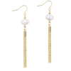 Baroque Tassel Drop Earrings Timelessly