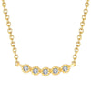 Bezel Bar Necklace Timelessly