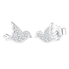 Bird Stud Earrings Timelessly