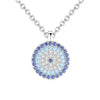 Blue Evil Eye Necklace Timelessly