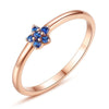 Blue Star Ring Timelessly