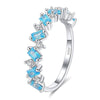 Blue Topaz Ring Timelessly