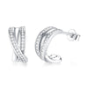 Braided Stud Earrings Timelessly
