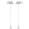 Butterfly Drop Earrings Timelessly
