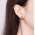 Chunky Stud Earrings Timelessly
