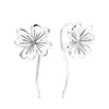 Clover Leaf Drop Earrings Timelessly
