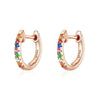 Colorful Mini Hoop Earrings Timelessly