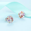 Colorful Stud Earrings Timelessly