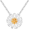 Daisy Flower Necklace Timelessly