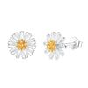 Daisy Flower Stud Earrings Timelessly