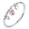 Dangle Heart Ring Timelessly