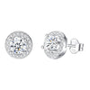 Elegant Round Stud Earrings Timelessly