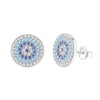 Evil Eye Stud Earrings Timelessly