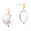 Freshwater Pearl Drop Earrings Timelessly