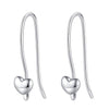 Heart Drop Earrings Timelessly