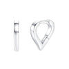 Heart Mini Hoop Earrings Timelessly