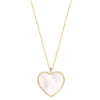 Heart Pearl Necklace Timelessly