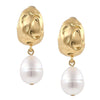 Irregular Pearl Earrings Timelessly