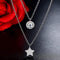 Layered Star Necklace Timelessly