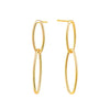 Link Drop Earrings Timelessly