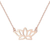 Lotus Flower Necklace Timelessly
