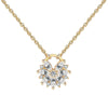 Marquise Cluster Necklace Timelessly