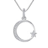 Moon Star Necklace Timelessly