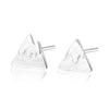 Mountain Peaks Stud Earrings Timelessly