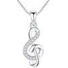 Musical Note Necklace Timelessly