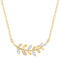 Olive Leaf Necklace Timelessly