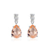 Pear Cut Drop Earrings Timelessly