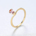 Pear Cut Ring Timelessly