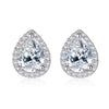 Pear Cut Stud Earrings Timelessly