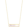 Pearl Bar Necklace Timelessly