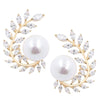 Pearl Stud Earrings Timelessly