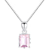 Pink Pendant Necklace Timelessly