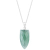 Quartz Pendant Necklace Timelessly