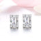 Rectangular Stud Earrings Timelessly