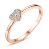 Rose Heart Ring Timelessly